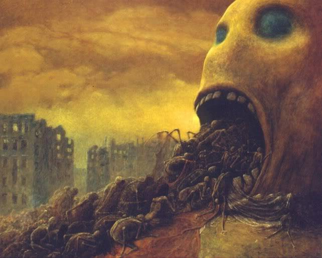 the last person to post here, wins - Page 2 Zdzislaw_beksinski_005