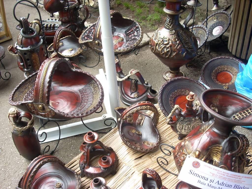 Targul de arta ceramica Cucuteni si al mestesugarilor de la Iasi-1/3 iulie 2011 Cucuteni015