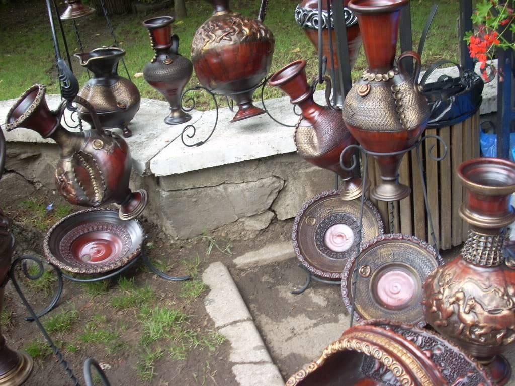 Targul de arta ceramica Cucuteni si al mestesugarilor de la Iasi-1/3 iulie 2011 Cucuteni016
