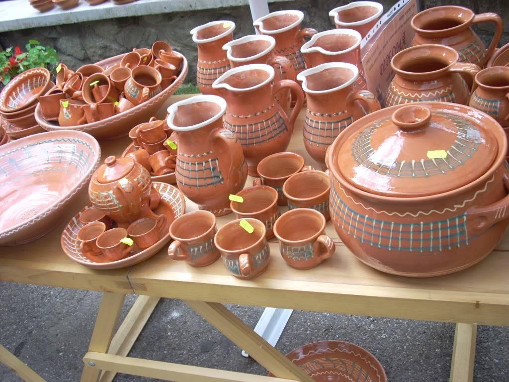 Targul de arta ceramica Cucuteni si al mestesugarilor de la Iasi-1/3 iulie 2011 Cucuteni019