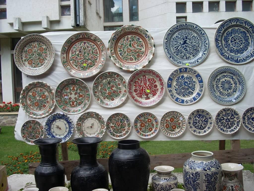 Targul de arta ceramica Cucuteni si al mestesugarilor de la Iasi-1/3 iulie 2011 Cucuteni030