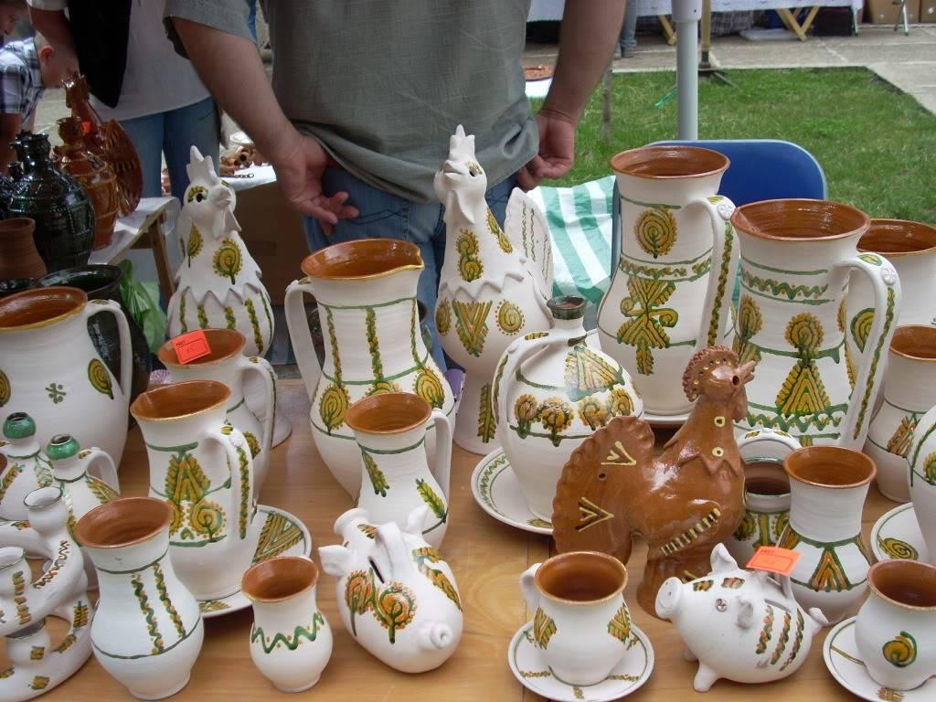 Targul de arta ceramica Cucuteni si al mestesugarilor de la Iasi-1/3 iulie 2011 Cucuteni031