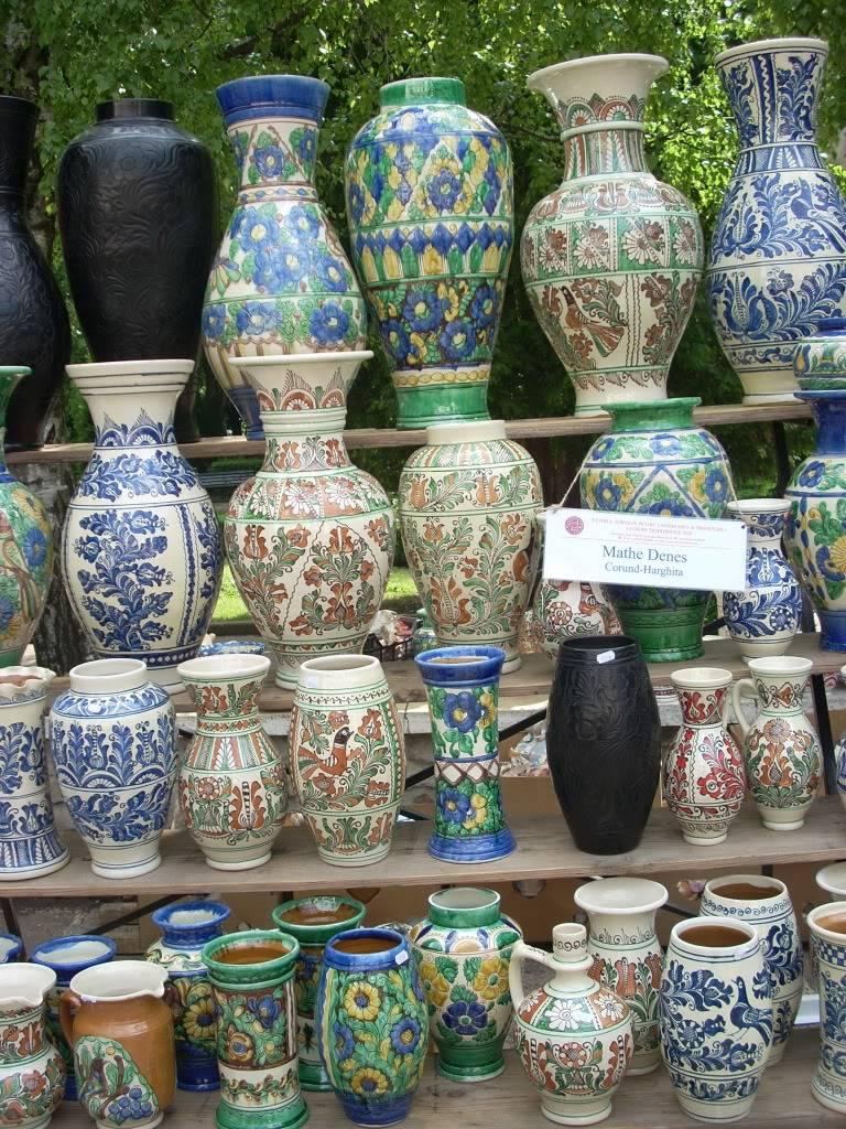 Targul de arta ceramica Cucuteni si al mestesugarilor de la Iasi-1/3 iulie 2011 Cucuteni033