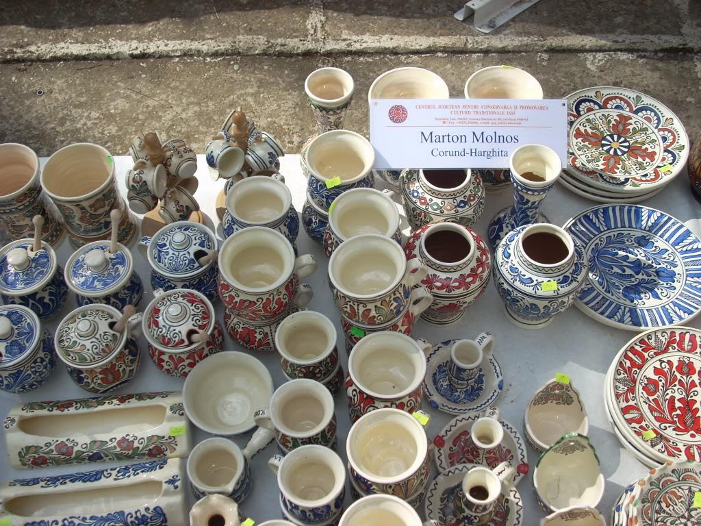 Targul de arta ceramica Cucuteni si al mestesugarilor de la Iasi-1/3 iulie 2011 Cucuteni038