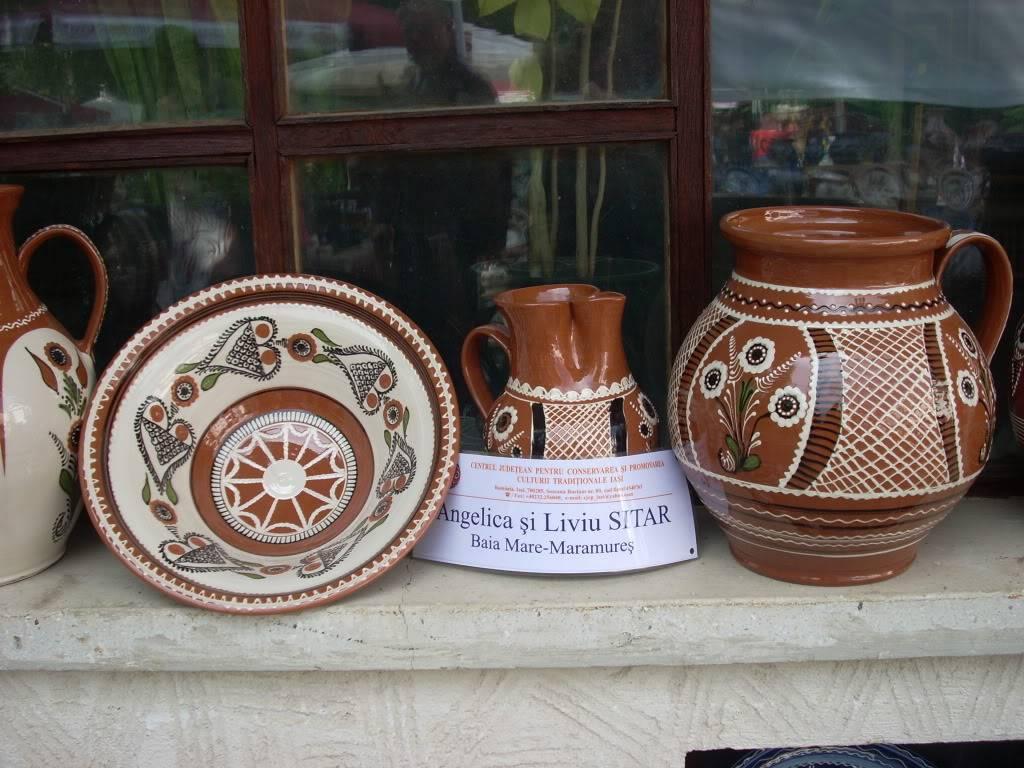 Targul de arta ceramica Cucuteni si al mestesugarilor de la Iasi-1/3 iulie 2011 Cucuteni051