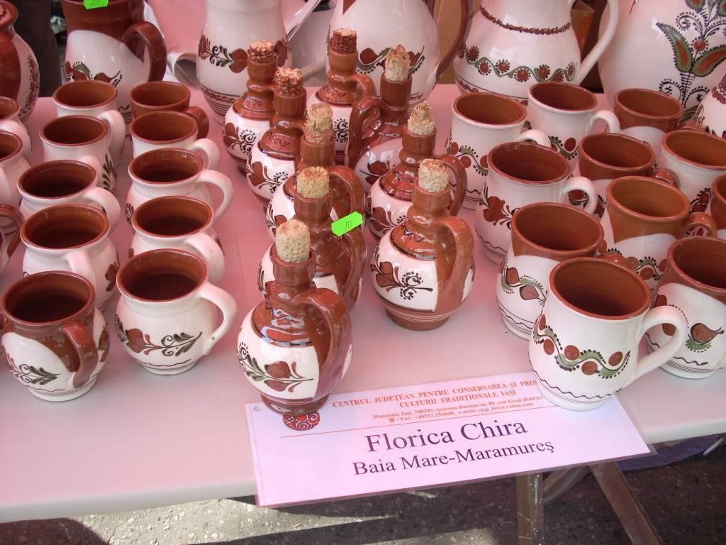 Targul de arta ceramica Cucuteni si al mestesugarilor de la Iasi-1/3 iulie 2011 Cucuteni062