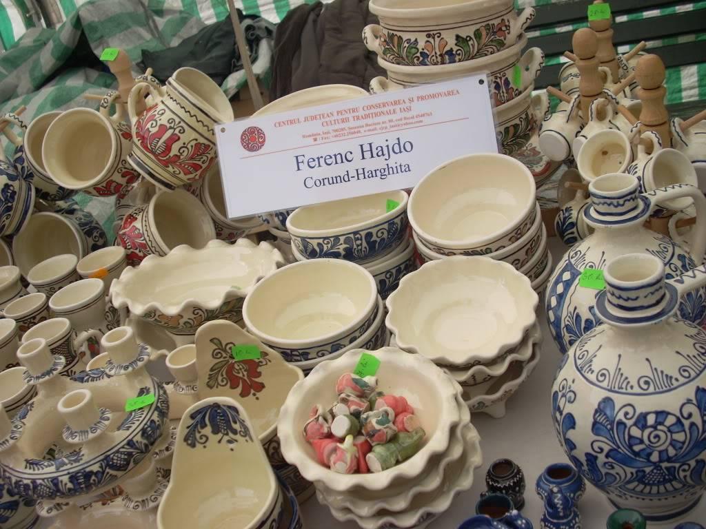 Targul de arta ceramica Cucuteni si al mestesugarilor de la Iasi-1/3 iulie 2011 Cucuteni066