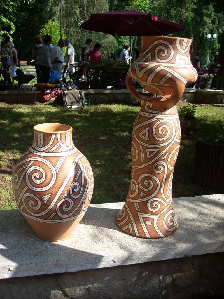 Targul de arta ceramica Cucuteni si al mestesugarilor de la Iasi-1/3 iulie 2011 Cucuteni093