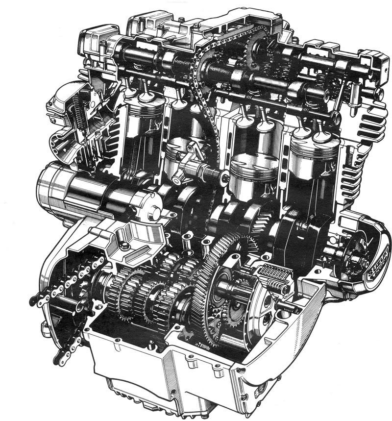Vintage Literature Engine800