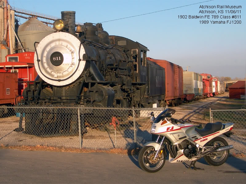 What did you do for your motorcycle today? AtchisonRail110611