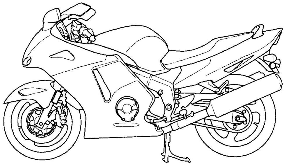 Motorcycle Line Art Xx