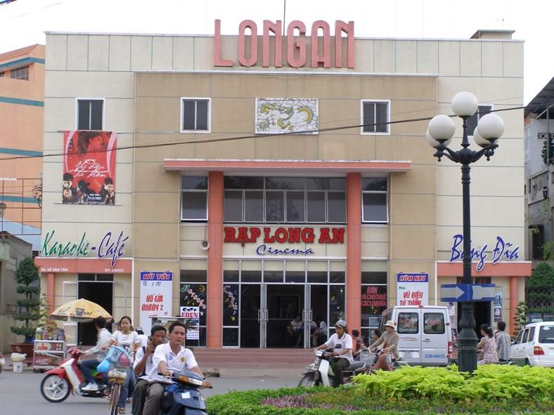 Thị xã Tân An của chúng ta. LAcinema