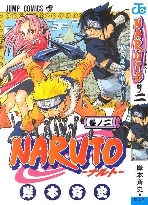 Naruto Mangá- Vol 2 Vol.ume02