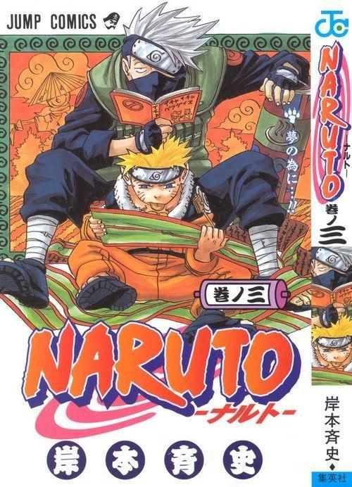 Naruto Mangá-Vol 3 Vol.ume03