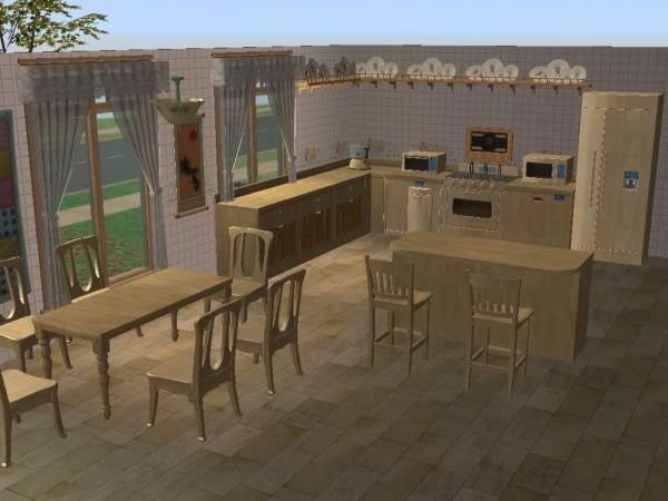 Cocina Hobbies Madera Clara/Kitchen Free Time Clear Wood 1c