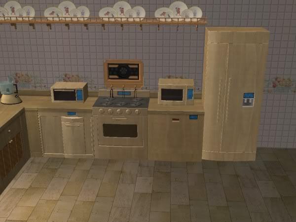 Cocina Hobbies Madera Clara/Kitchen Free Time Clear Wood 2c