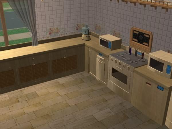 Cocina Hobbies Madera Clara/Kitchen Free Time Clear Wood 3c