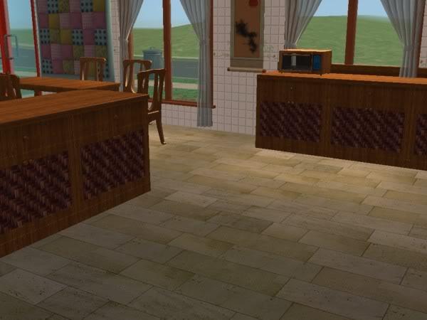 Cocina Hobbies Madera Oscura/Kitchen Free Time Dark Wood 5d
