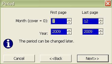 Софтуер за календари. Тамплейти за календари 12