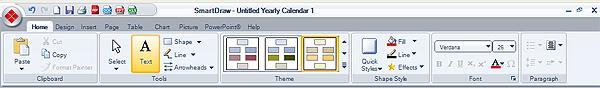Софтуер за календари. Тамплейти за календари 4