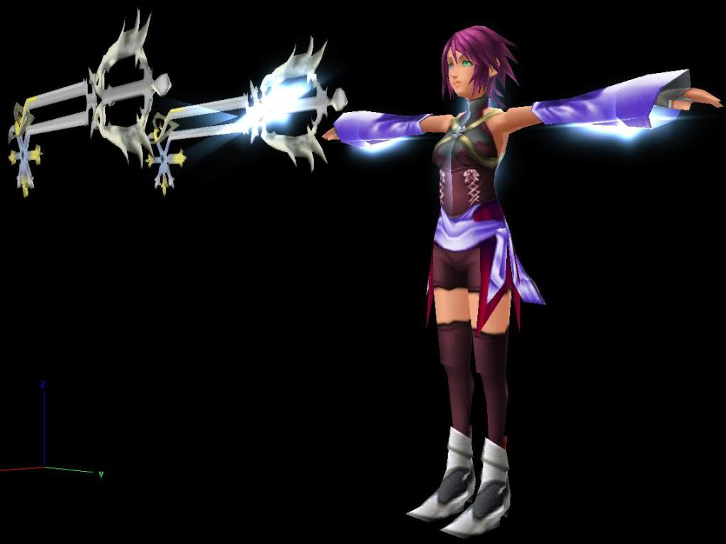 Aurora the Keyblade Wielder Aurora-3