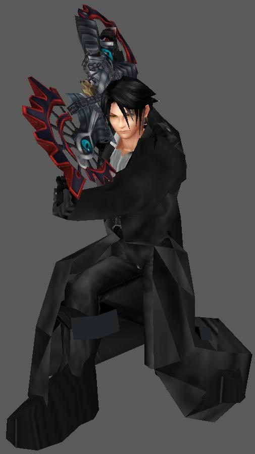 Dark Keyblade Master Zeke ZekeEvil