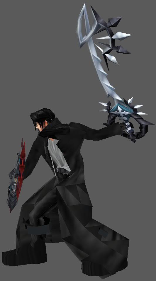 Dark Keyblade Master Zeke ZekeEvilDualWield