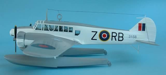 Airfix 1/72 Avro Anson Floatplane Trainer. SAAFAnsonLEFT
