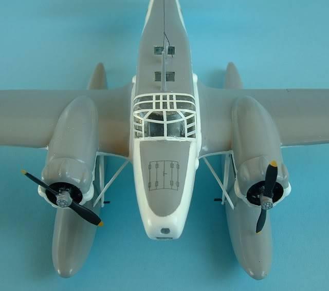 Airfix 1/72 Avro Anson Floatplane Trainer. SAAFAnsonNOSE