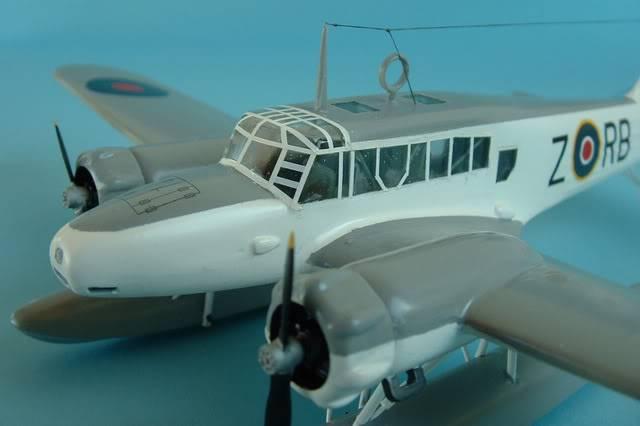 Airfix 1/72 Avro Anson Floatplane Trainer. SAAFAnsonNOSELEFT