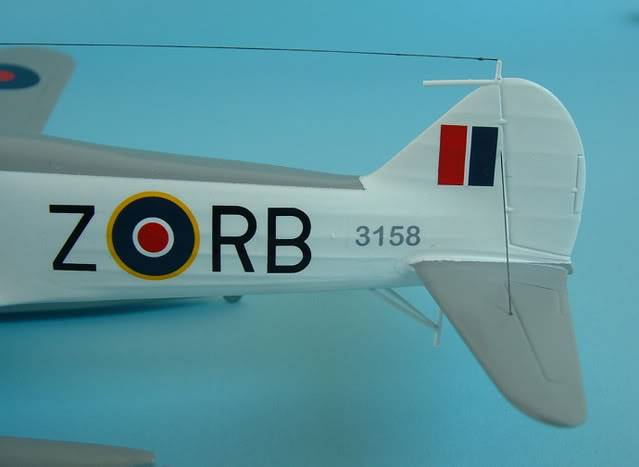 Airfix 1/72 Avro Anson Floatplane Trainer. SAAFAnsonTAIL