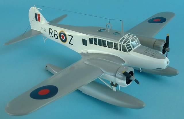 Airfix 1/72 Avro Anson Floatplane Trainer. SAAFAnsonfrontright