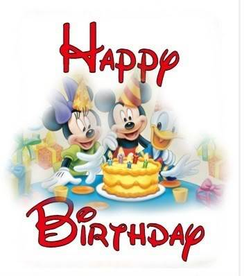 Teresa! Happy birthday! Mickey-Minnie-Donald-Birthday