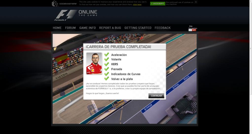 Beta F1 onlinethegame F1onlinethegame