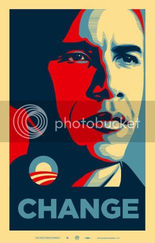 Group 1 Post here Barack_Obama_Change_Fairey