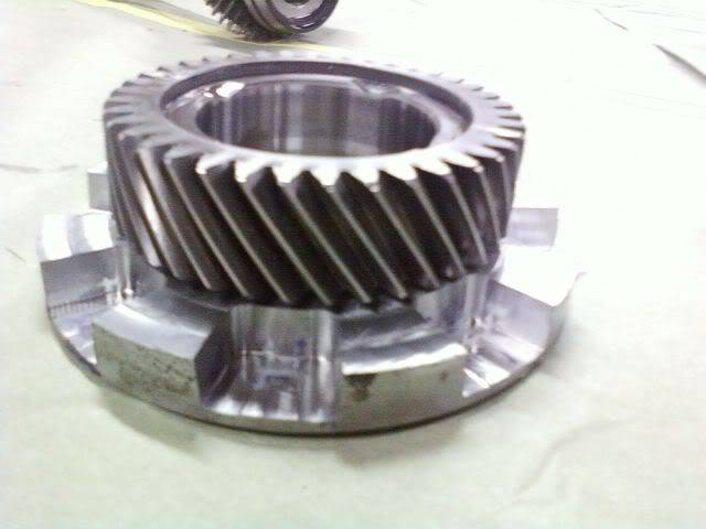 Stock Mustang 3650 fabricated into a face plated 3650 06061917