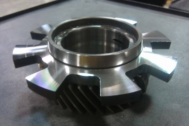 Stock Mustang 3650 fabricated into a face plated 3650 48256b46