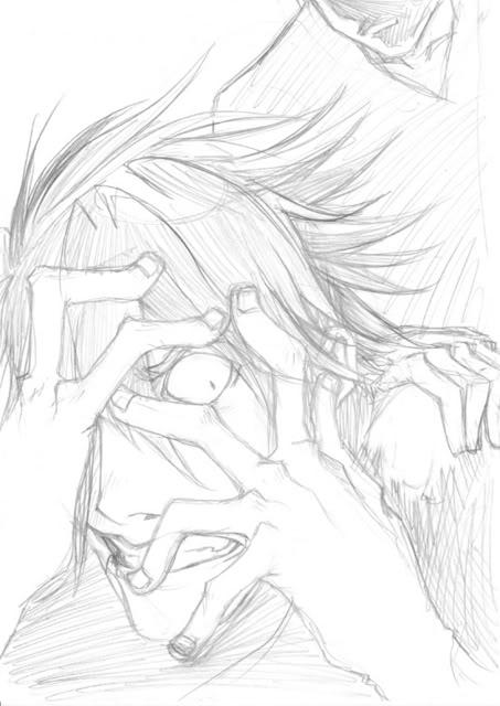 Encrage au Brush Pen et Finitions sur un dessin By SpringDragon Madness