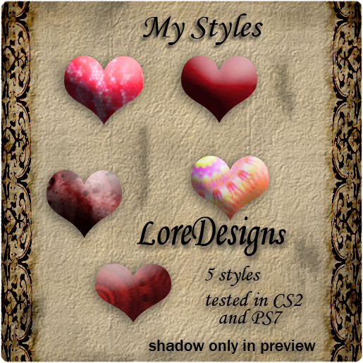 My Styles free Sample LoreDesigns_MyStyles_preview