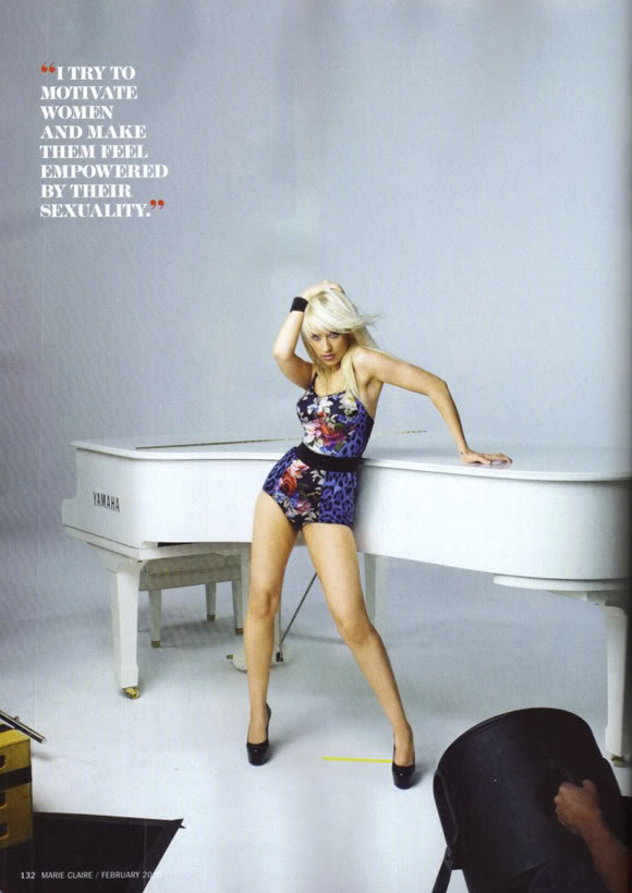 CHRISTINA AGUILERA - 'Burlesque' is coming - Page 2 Xtina-marie-c4