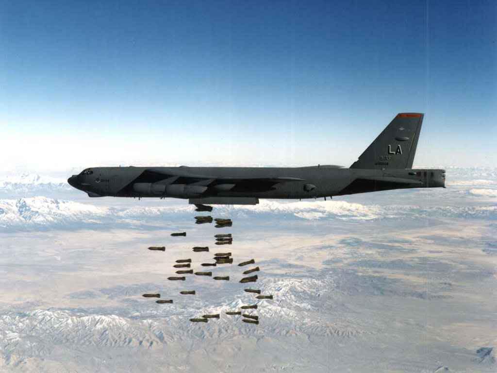 القاذفة Stratofortress  B-52 B521