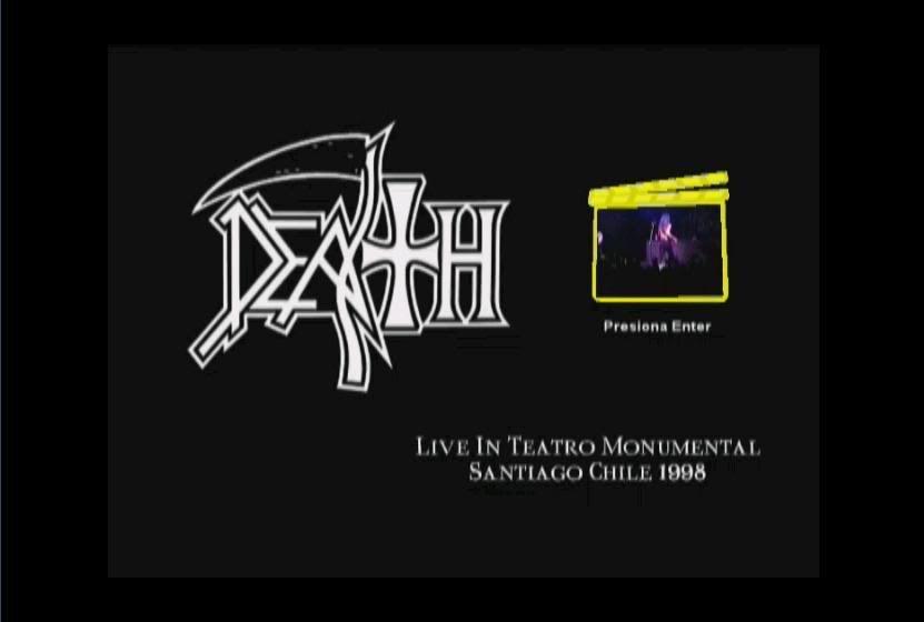 Death - Chile 1998 - Teatro Monumental 1-1