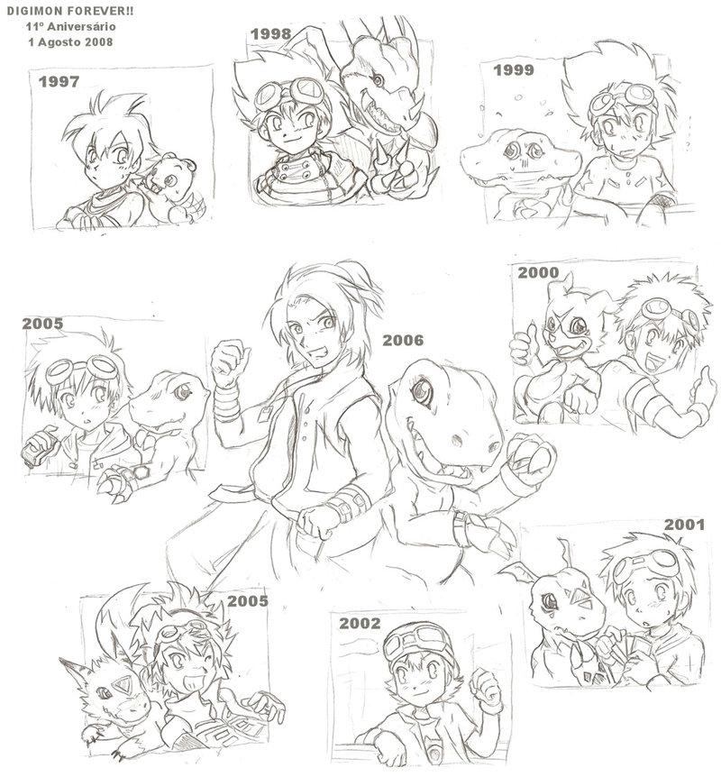 ¡Imágenes de Digimon! Digimon_11th_Anniversary_draft_by_Tai_Rayana_zpsfd1f74d1