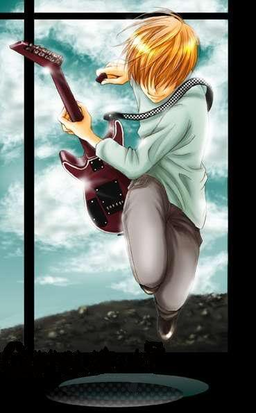 Fritz of the Guitar Blade - Shinigami 56-1