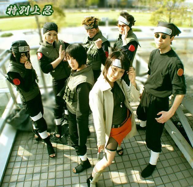 Cosplays de Naruto Group001
