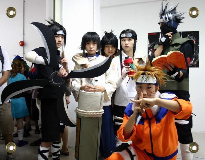 Cosplays de Naruto Groupcos5