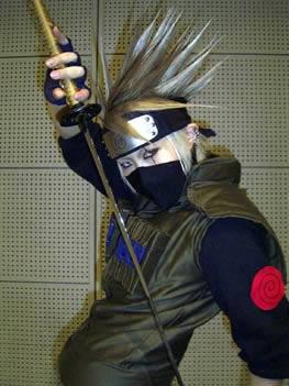 Galeria cosplay :o Kakashi