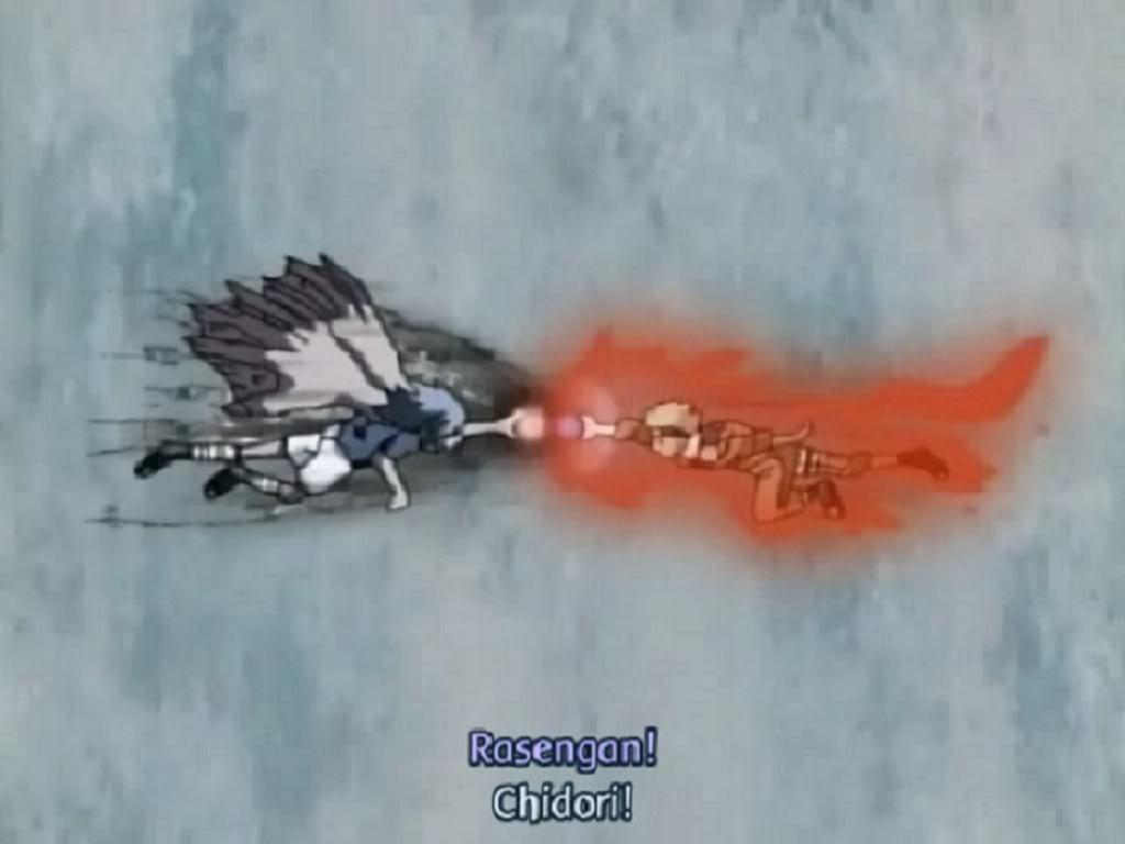 fui vs  raikou Naruto