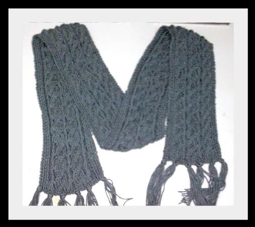 Giúp em đan phần kết thúc cho khăn len với! Pictur10