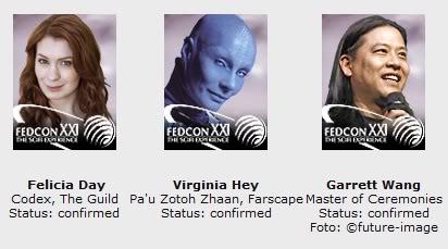 FedCon XXI (2012) FedconGuests